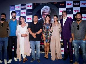 Amitabh Bachchan and other star cast of movie 'Pink'
