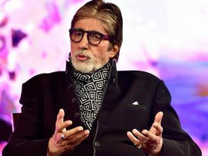 Amitabh Bachchan speaks