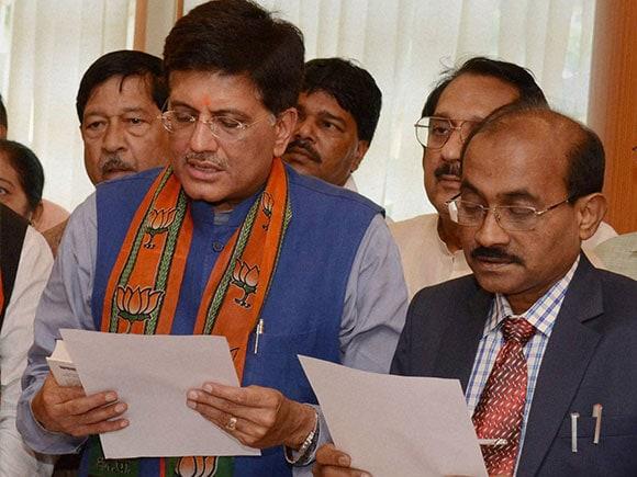 Piyush Goyal, Piyush Goyal Minister, Union Power Minister, Rajya Sabha elections, Vidhan Sabha Maharashtra, piyush goyal bjp, piyush goyal news, vidhan sabha