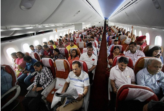 Air India's B-787 Dreamliner resumes operations with an almost full flight to Kolkata from New Delhi