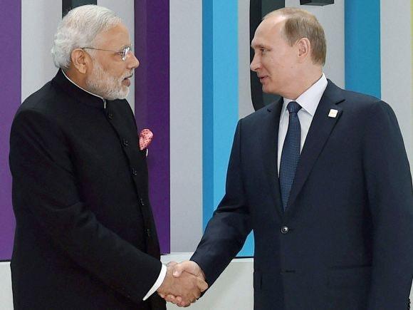 Narendra Modi, Russia, India, BRICS, 7th BRICS Summit, Summit, Russian President, Vladimir Putin, Ufa