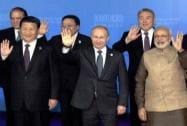 Narendra Modi, Vladimir Putin, Dilma Rousseff, Xi Jinping, Jacob Zuma, Nawaz Sharif