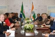 Narendra Modi with Jacob Zuma