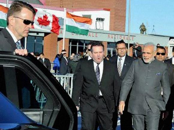 Prime Minister of India, Narendra Modi, Canada