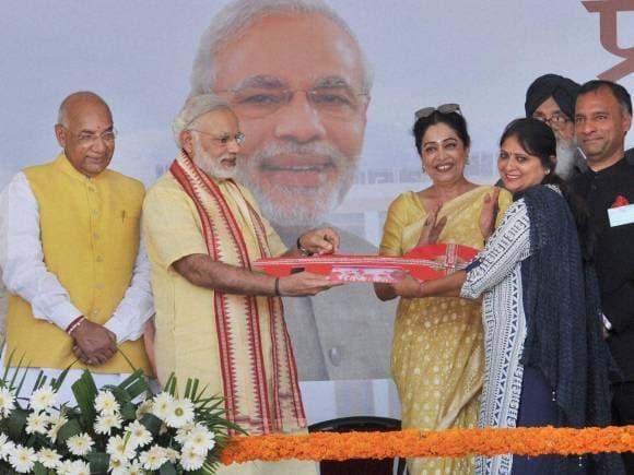 Prime Minister of India, Narendra Modi, Chandigarh, Kiron Kher, New Housing Scheme