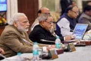 PM Modi at Governors' Conference, at Rashtrapati Bhavan