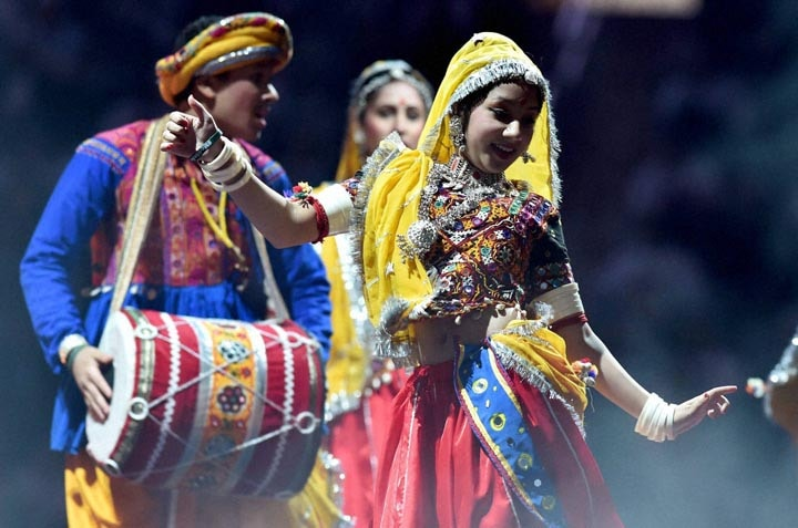 Artists, perform, reception, organised, honour, Prime Minister, Narendra Modi, Indian American Community Foundation, Madison Square Garden, New York