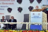 Modi Arrives in MP to Inaugurate Power Units