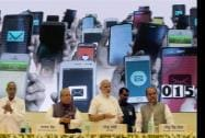 Prime Minister Narendra Modi launches the Pandit Deendayal Upadhyay Shramev Jayate scheme