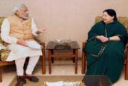 PM meets Jayalalithaa