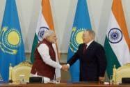 PM Modi meets Kazakh President Nursultan Nazarbayev