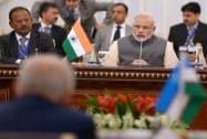 Prime Minister Narendra Modi with NSA Ajit Doval