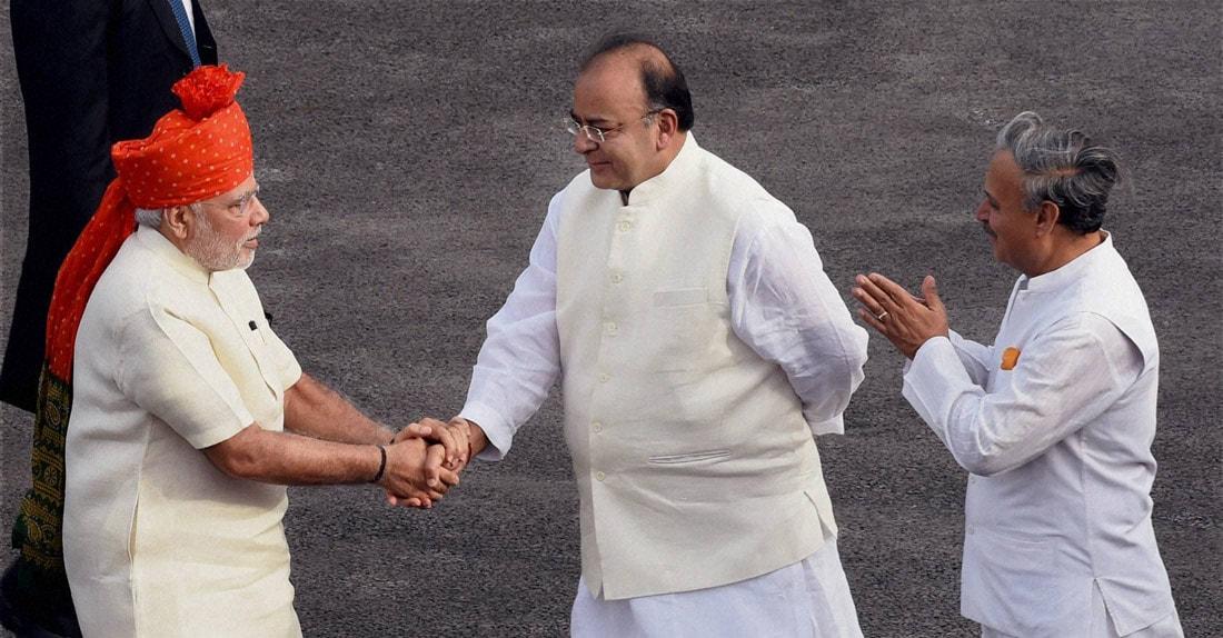 Prime Minister, Narendra Modi, received, Defence Minister Arun Jaitley, MoS Rao Inderjit Singh