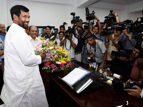 Ramvilas Paswan, Ministry of Food & Civil Supplies