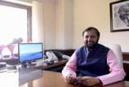 Javadekar assuming charge as Minister of State for I& B