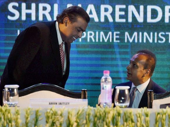 Reliance Industries Chairman, Mukesh Ambani, Reliance Group chairman, Anil Ambani, Digital India, Digital India Week, New Delhi, Reliance