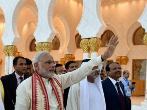 PM Modi Visits Sheikh Zayed Grand Mosque in UAE