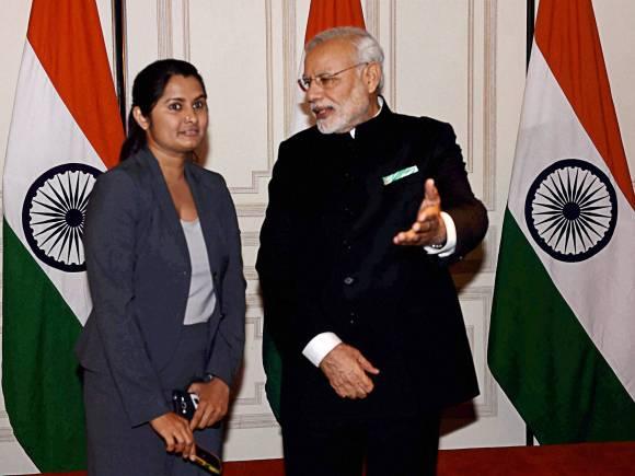 Prime Minister of India, Narendra Modi, Gujarati community, John F Kennedy, Barack Obama, New York, US