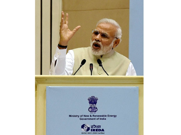 Prime Minister of India, Narendra Modi, Re-Invest 2015,  Renewable Energy, Energy Global