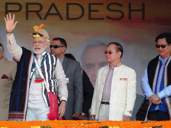 AP Chief Minister,  Nabam Tuki, Union MoS for Home,  Kiren Rijiju, Gandhi Park, Arunachal Pradesh