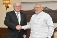 Narendra Modi meets Australian Minister for Trade and Investment, Andrew Robb