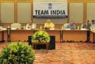 Narendra Modi with Rajnath Singh, Arun Jaitley