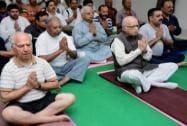 LK Advani and Shanta Kumar