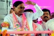 Telangana Chief Minister and TRS President, K. Chandrasekhar Rao