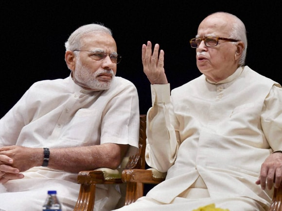 Prime Minister of India, Narendra Mod, LK Advani, BJP