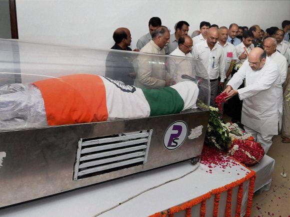 BJP, Amit Shah, APJ Abdul Kalam, Rajaji Marg, New Delhi