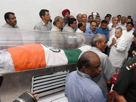 Mulayam Singh Yadav, Samajwadi Party, APJ Abdul Kalam, Abdul Kalam, Missile Man, Shillong, Former President of India, Bharat Ratna, Rajaji Marg, New Delh