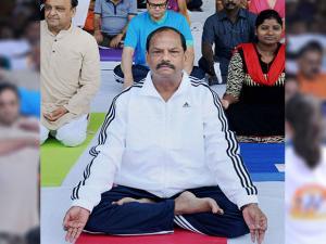 Raghubar Das, Jharkhand Chief Minister at Morhabadi ground in Ranchi, Jharkhand 02