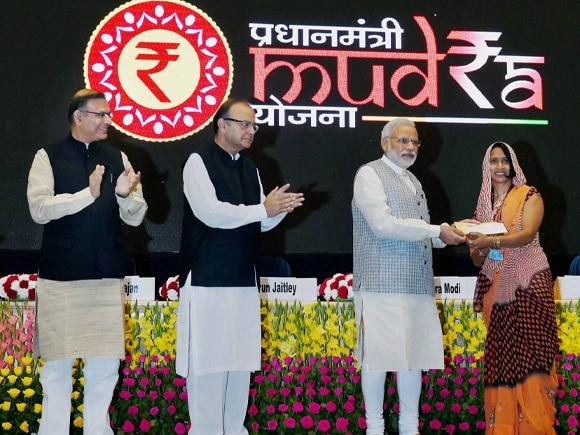 Prime Minister of India, Narendra Mod, RBI Governor, Raghuram Rajan, Finance Minister of India,  Arun Jaitley, Pradhan Mantri, Mudra Yojana, MoS for Finance, Jayant Sinha