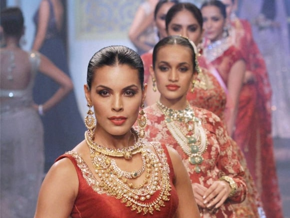 IIJW 2015, Jewellery, India International Jewellery Week, Fashion Show, Mumbai, India, International