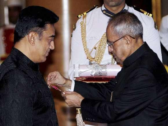 Kamal Haasan, Padma Bhushan