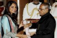 Dipika Rebecca Pallikal receives Padma Shri award