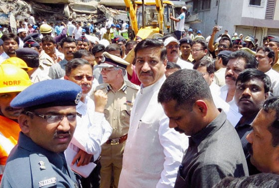 Prithviraj Chavan, collapse, building, Mumbra, Thane