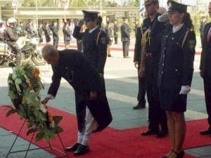 President Pranab Mukherjee and Israeli President Reuven Rivlin