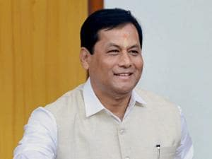 Assam Chief Minister Sarbananda Sonowal casts his vote during Presidential election.jpg