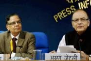 Press Conference; Arun Jaitley with Arvind Panagariya