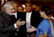 Prime Minister Modi arrives in Sri Lanka