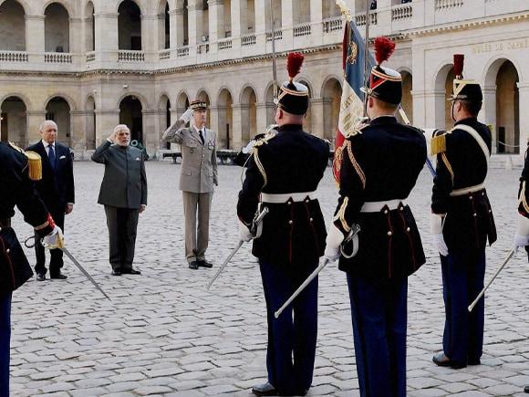 Prime Minister of India, Narendra Mod, PM Modi, Modi, Paris, French Foreign Minister, Laurent Fabius