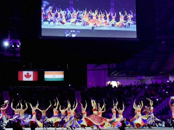 Indian Diaspora Event, Ricoh Coliseum, Prime Minister of India, Narendra Mod, Stephen Harper, India, Canada, Toronto
