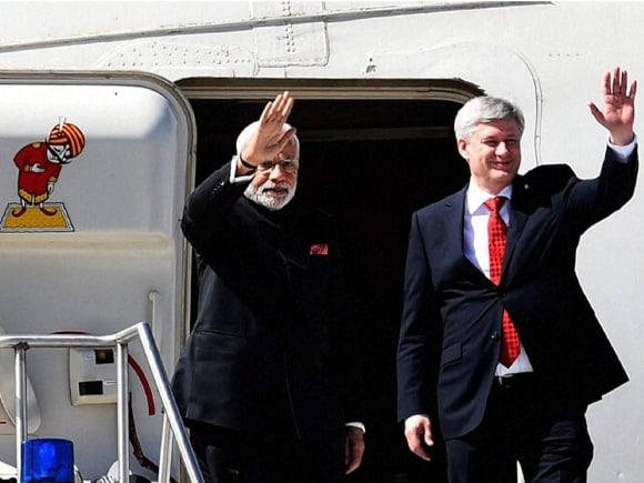 Prime Minister of India, Narendra Mod, Stephen Harper, India, Canada, Toronto