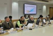 Prime Minister Narendra Modi chairing the first meeting of NITI Aayog