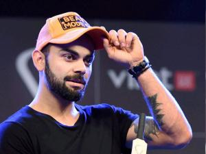 Cricketer Virat Kohli at the launch of 'Virat FanBox' in Mumbai (2)