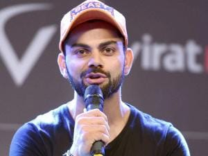 Cricketer Virat Kohli at the launch of 'Virat FanBox' in Mumbai (3)