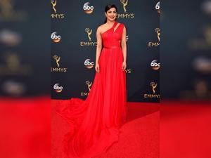 Priyanka Chopra arrives at the 68th Primetime Emmy Awards