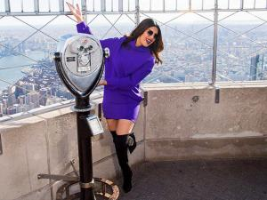 Priyanka Chopra at the Empire State Building