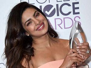 Priyanka Chopra at the People's Choice Awards at the Microsoft Theater